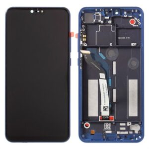 Xiaomi Mi 8 Lite Front Cover & LCD Display - Blue