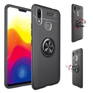 Xiaomi Mi Max 3 Magnet Ring Grip / Kickstand Case - Black
