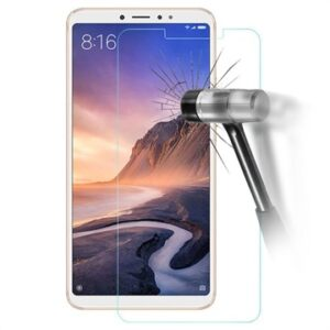 Xiaomi Mi Max 3 Tempered Glass Screen Protector - 9H, 0.3mm - Clear