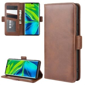 Xiaomi Mi Note 10/10 Pro Wallet Case with Magnetic Closure - Coffee