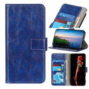 Xiaomi Redmi 9 Wallet Case with Magnetic Closure - Blue