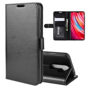 Xiaomi Redmi Note 8 Pro Wallet Case with Magnetic Closure - Black