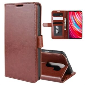 Xiaomi Redmi Note 8 Pro Wallet Case with Magnetic Closure - Brown