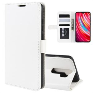 Xiaomi Redmi Note 8 Pro Wallet Case with Magnetic Closure - White