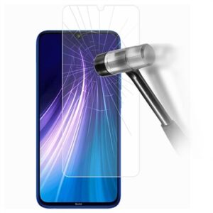 Xiaomi Redmi Note 8 Tempered Glass Screen Protector - 9H, 0.3mm - Clear