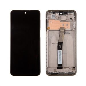 Xiaomi Redmi Note 9 Pro Front Cover & LCD Display 560002J6B200 - White
