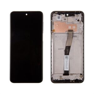 Xiaomi Redmi Note 9 Pro Front Cover & LCD Display 560003J6B200 - Grey