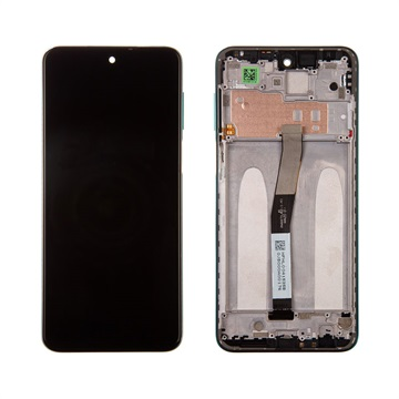 Xiaomi Redmi Note 9 Pro Front Cover & LCD Display 560004J6B200 - Green