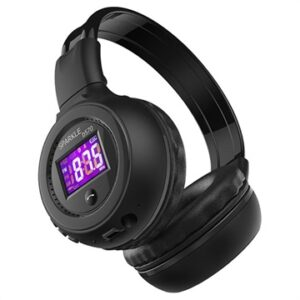 Zealot B570 Foldable Bluetooth Headphones - Black