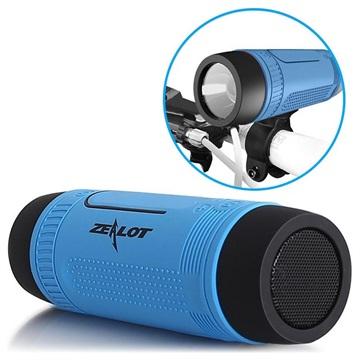 Zealot S1 6-in-1 Multifunctional Bluetooth Speaker - Blue