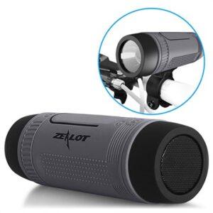 Zealot S1 6-in-1 Multifunctional Bluetooth Speaker - Dark Grey