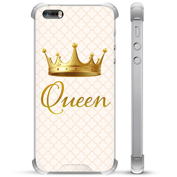 iPhone 5/5S/SE Hybrid Case - Queen