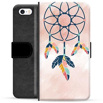 iPhone 5/5S/SE Premium Wallet Case - Dreamcatcher