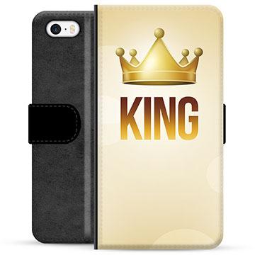 iPhone 5/5S/SE Premium Wallet Case - King