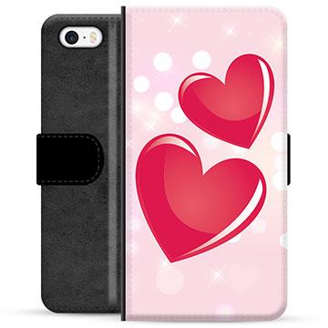 iPhone 5/5S/SE Premium Wallet Case - Love