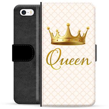 iPhone 5/5S/SE Premium Wallet Case - Queen