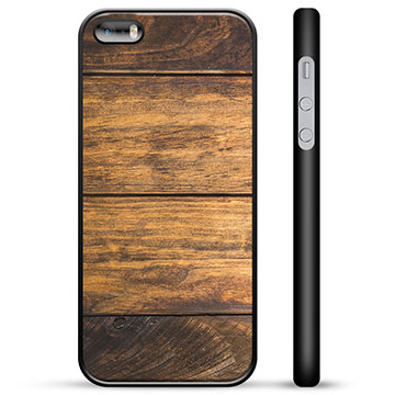 iPhone 5/5S/SE Protective Cover - Wood