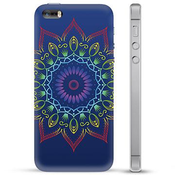 iPhone 5/5S/SE TPU Case - Colorful Mandala