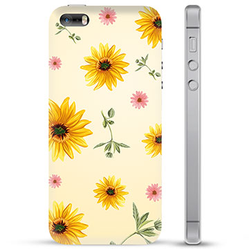 iPhone 5/5S/SE TPU Case - Sunflower
