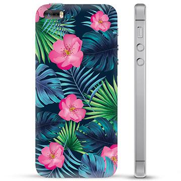 iPhone 5/5S/SE TPU Case - Tropical Flower