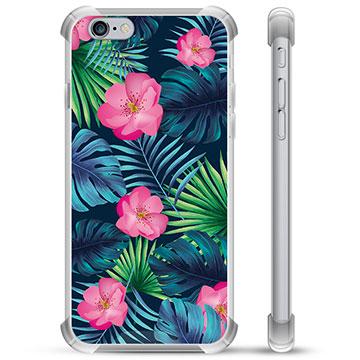 iPhone 6 / 6S Hybrid Case - Tropical Flower