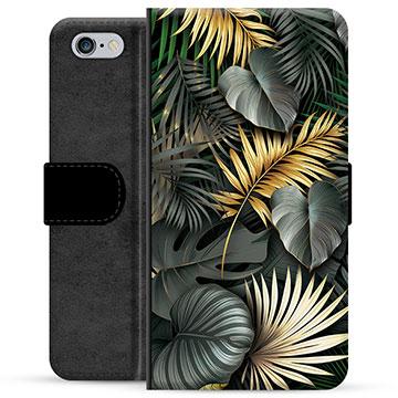 iPhone 6 / 6S Premium Wallet Case - Golden Leaves
