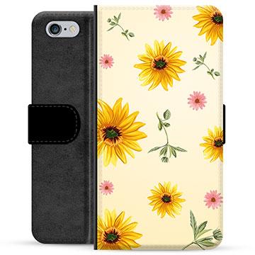 iPhone 6 / 6S Premium Wallet Case - Sunflower
