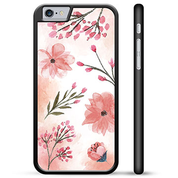 iPhone 6 / 6S Protective Cover - Pink Flowers