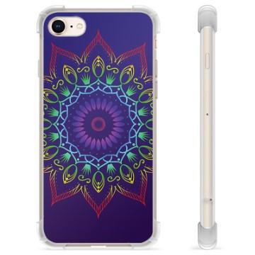 iPhone 7/8/SE (2020) Hybrid Case - Colorful Mandala
