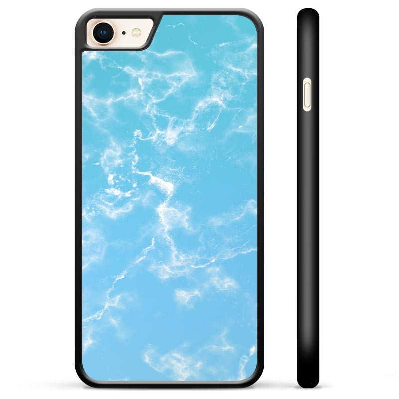 iPhone 7/8/SE (2020) Protective Cover - Blue Marble