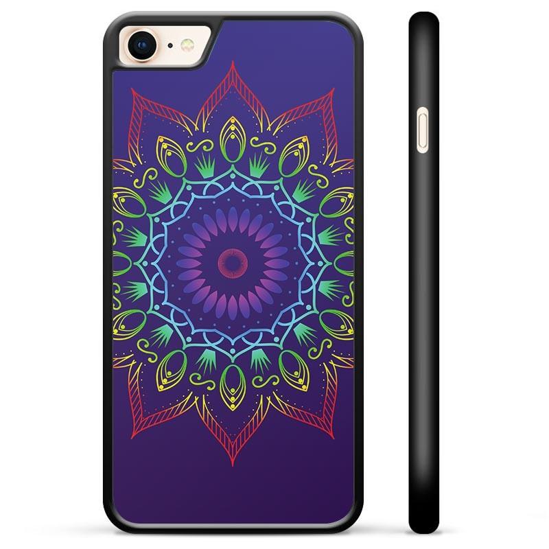 iPhone 7/8/SE (2020) Protective Cover - Colorful Mandala