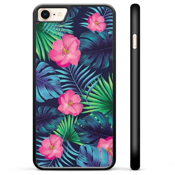 iPhone 7/8/SE (2020) Protective Cover - Tropical Flower