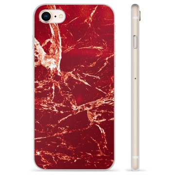 iPhone 7/8/SE (2020) TPU Case - Red Marble