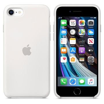 iPhone SE (2020) Apple Silicone Case MXYJ2ZM/A - White
