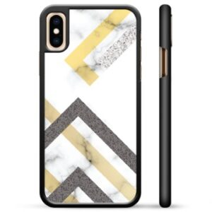 iPhone X / iPhone XS Protective Cover - Abstract Marble