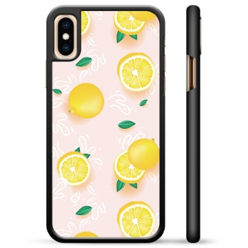 iPhone X / iPhone XS Protective Cover - Lemon Pattern