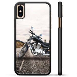 iPhone X / iPhone XS Protective Cover - Motorbike
