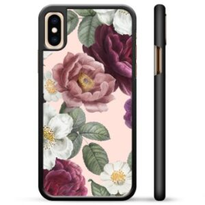 iPhone X / iPhone XS Protective Cover - Romantic Flowers