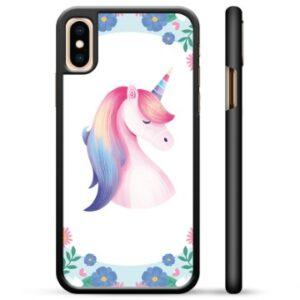 iPhone X / iPhone XS Protective Cover - Unicorn