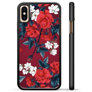 iPhone X / iPhone XS Protective Cover - Vintage Flowers