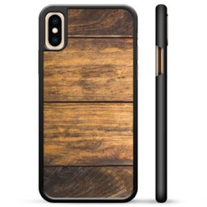 iPhone X / iPhone XS Protective Cover - Wood