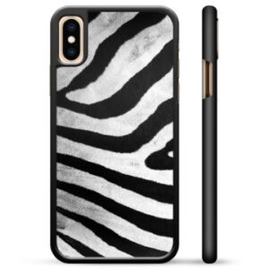 iPhone X / iPhone XS Protective Cover - Zebra