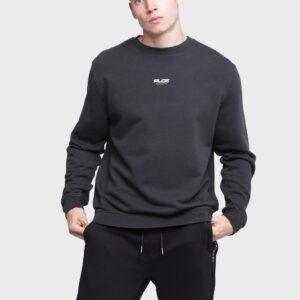 883 Police Basic Dark Grey Designer Mens Sweatshirts