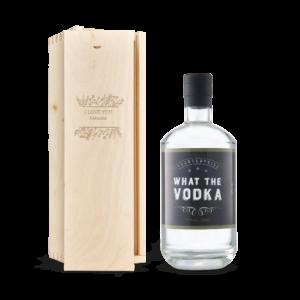 Vodka in engraved case - YourSurprise