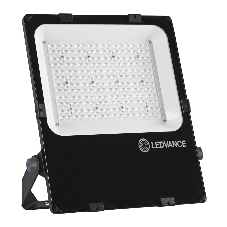 LEDVANCE LED Floodlight Performance 150W 3000K 18700lm IP66 Black   Symmetrical