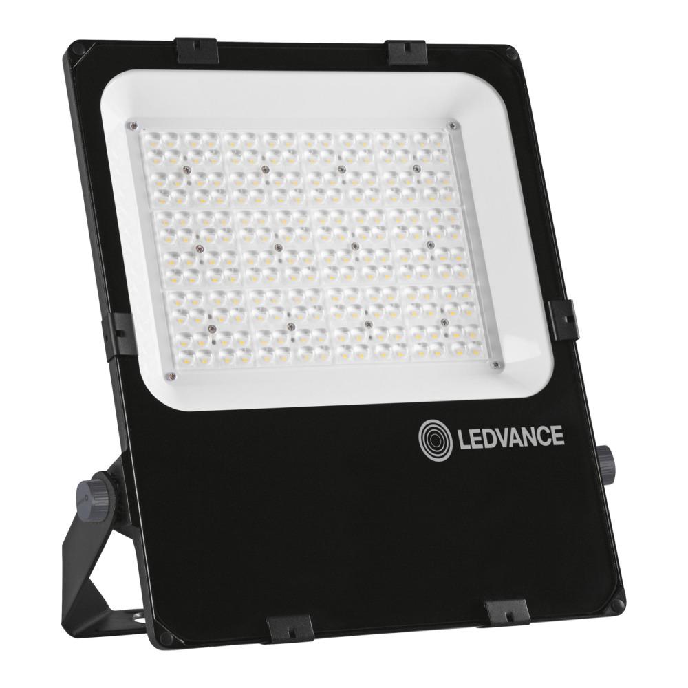 LEDVANCE LED Floodlight Performance 150W 4000K 20200lm IP66 Black   Symmetrical