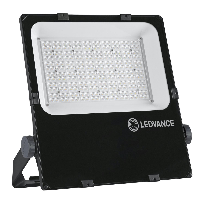 LEDVANCE LED Floodlight Performance 200W 3000K 24800lm IP66 Black | Symmetrical