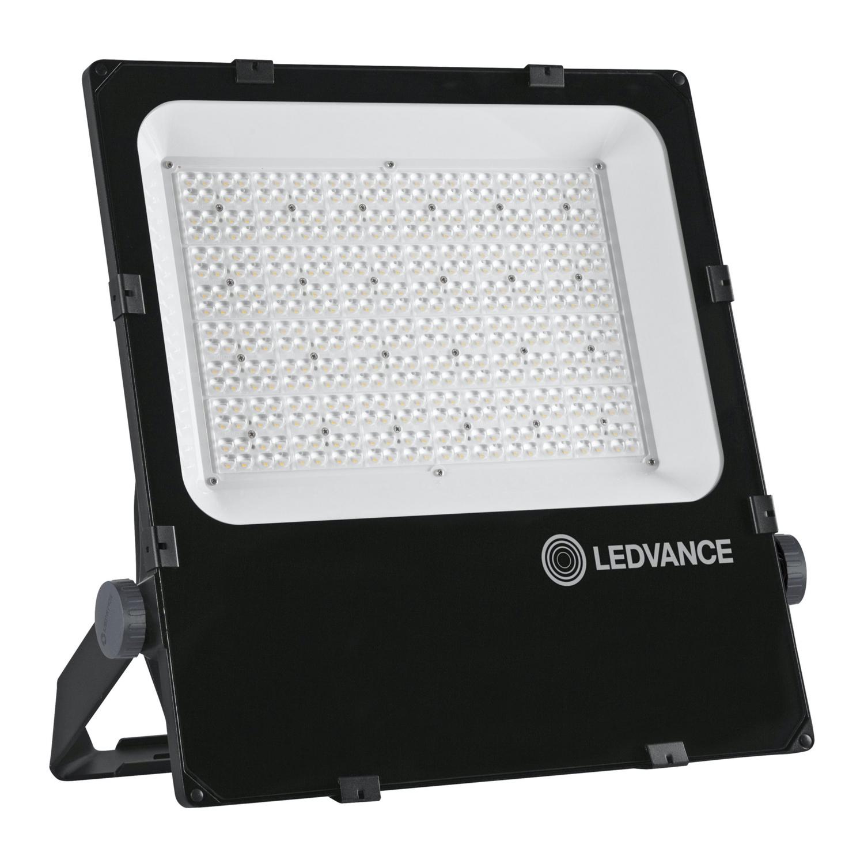 LEDVANCE LED Floodlight Performance 290W 4000K 38200lm IP66 Black   Asymmetrical