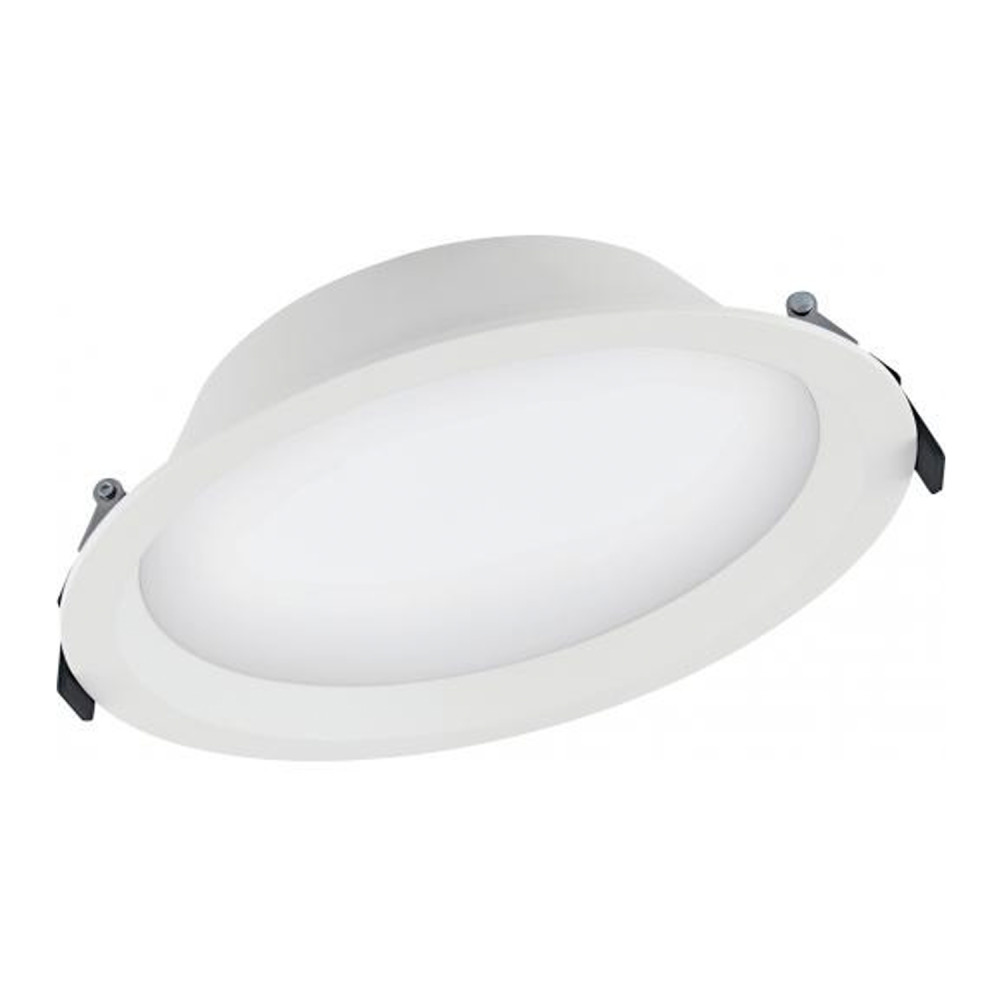 Ledvance LED Downlight Aluminum DN200 25W 830 IP44   Dali Dimmable - Replaces 2x16W