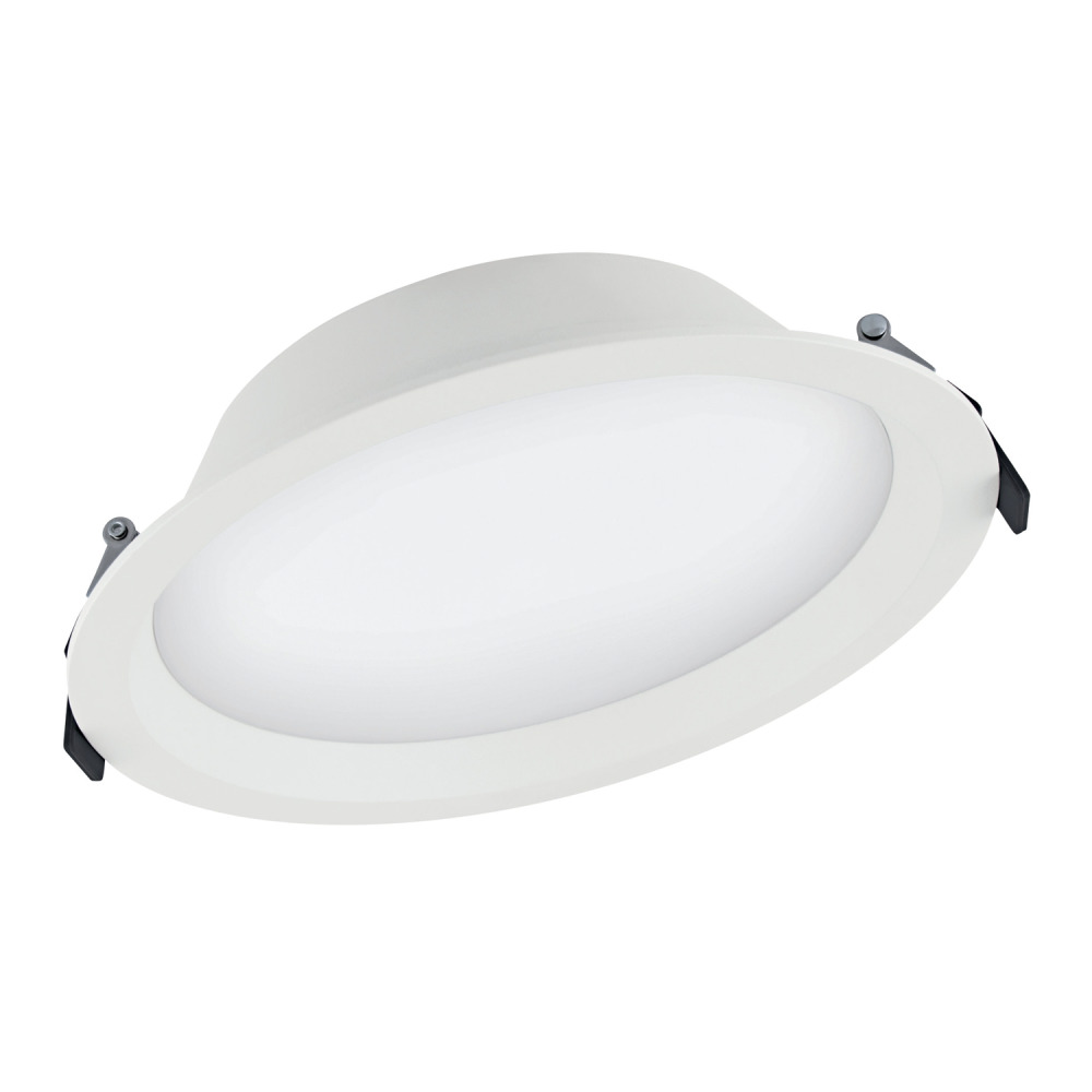 Ledvance LED Downlight Aluminum DN200 25W 840 IP44   Dali Dimmable - Replaces 2x16W